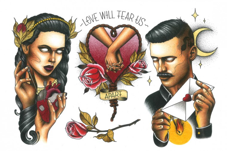 Love will tear us aparat